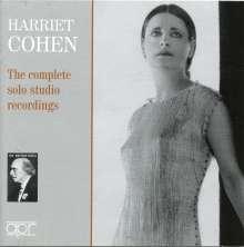 Harriet Cohen - he complete solo studio recordings, 3 CDs