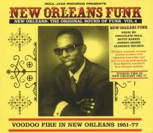 New Orleans Funk 4: Voodoo Fire In New Orleans 1951 - 1977, 2 LPs