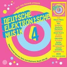 Deutsche elektronische Musik 4 (Experimental German Rock And Electronic Music 1971 - 1983), 3 LPs