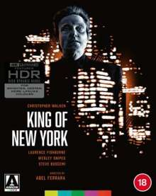 King of New York (1989) (Ultra HD Blu-ray) (UK Import), Ultra HD Blu-ray