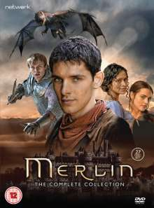 Merlin - The Complete Collection (UK Import), 27 DVDs