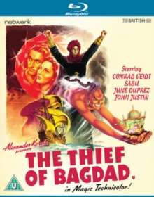 The Thief Of Bagdad (1940) (Blu-ray) (UK Import), Blu-ray Disc