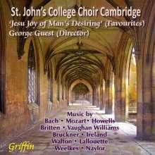 St.John's College Choir Cambridge - Jesu Joy of Man's Desiring' (Favourites), CD