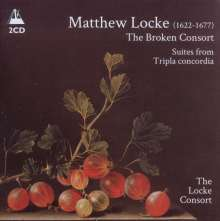 Matthew Locke (1622-1677): The Broken Consort Part I & II, 2 CDs