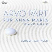 Arvo Pärt (geb. 1935): Für Anna Maria - Sämtliche Klavierwerke (180g), 2 LPs
