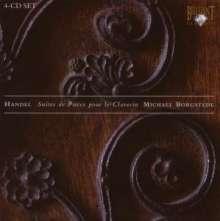 Georg Friedrich Händel (1685-1759): Cembalosuiten (1720) Nr.1-8 (HWV 426-433), 4 CDs