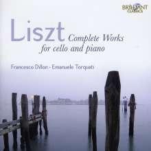 Franz Liszt (1811-1886): Sämtliche Werke für Cello & Klavier, CD