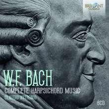 Wilhelm Friedemann Bach (1710-1784): Sämtliche Werke für Cembalo, 6 CDs