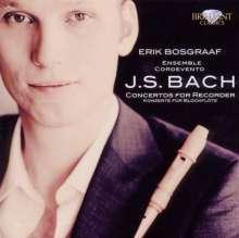 Johann Sebastian Bach (1685-1750): Blockflötenkonzerte BWV 1053,1055,1059, CD