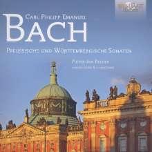 Carl Philipp Emanuel Bach (1714-1788): Cembalosonaten Wq.48 & Wq.49, 3 CDs