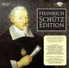 Heinrich Schütz (1585-1672): Schütz-Edition, 19 CDs