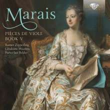 Marin Marais (1656-1728): Pieces de Viole Buch 5 (1725), 4 CDs