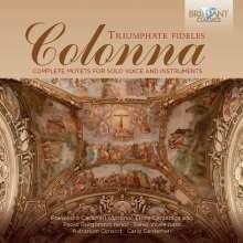 Giovanni Paolo Colonna (1637-1695): Vokalwerke, 2 CDs