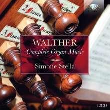 Johann Gottfried Walther (1684-1748): Complete Organ Music, 12 CDs