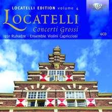 Pietro Locatelli (1695-1764): Concerti grossi op.1 Nr.1-12; op.4 Nr.4-12; op.7 Nr.1-6, 6 CDs