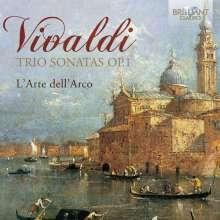 Antonio Vivaldi (1678-1741): Triosonaten RV 61-67, 69, 73, 75, 78, 79 (op.1 Nr.1-12), 2 CDs