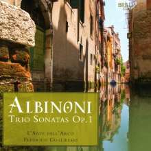 Tomaso Albinoni (1671-1751): Triosonaten op.1 Nr.1-12, 2 CDs