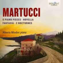 Giuseppe Martucci (1856-1909): Klavierwerke Vol.1, CD
