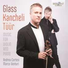 Philip Glass (geb. 1937): Violinsonate, CD