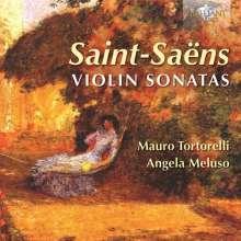 Camille Saint-Saens (1835-1921): Sonaten für Violine & Klavier Nr.1 & 2, CD