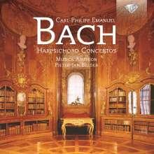 Carl Philipp Emanuel Bach (1714-1788): Cembalokonzerte Wq.3,6,14, CD