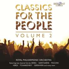 Royal Philharmonic Orchestra - Classics For The People Vol.2, 2 CDs