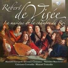 Robert de Visee (1650-1725): Musique de la Chambre du Roy Vol.3, 2 CDs