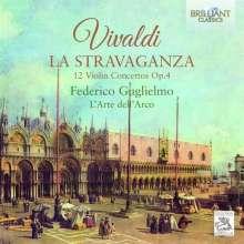 """Antonio Vivaldi (1678-1741): Concerti op.4 Nr.1-12 """"La Stravaganza"""", 2 CDs"""