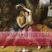 """Antonio Vivaldi (1678-1741): 6 Flötenson.op.13 """"Pastor Fido""""(RV 54-59), CD"""