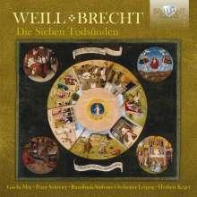 Kurt Weill (1900-1950): Die Sieben Todsünden (Songs), CD