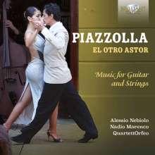"""Astor Piazzolla (1921-1992): Werke für Gitarre & Streichquartett """"El Otro Astor"""", CD"""