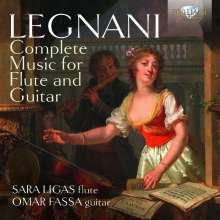 Luigi Rinaldo Legnani (1790-1877): Musik für Flöte & Gitarre, CD