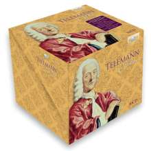 Georg Philipp Telemann (1681-1767): Telemann Edition, 50 CDs