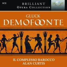 Christoph Willibald Gluck (1714-1787): Demofoonte, 3 CDs