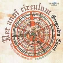"Gregorian Chant ""Per anni circulum"", CD"