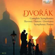 Antonin Dvorak (1841-1904): Symphonien Nr.1-9, 9 CDs