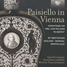 Paisiello in Vienna, CD