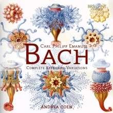 Carl Philipp Emanuel Bach (1714-1788): Sämtliche Variationen für Klavier, 2 CDs