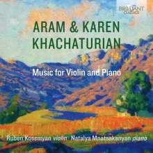 Karen Khachaturian (1920-2011): Violinsonate g-moll op.1, CD
