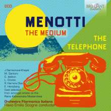 Gian-Carlo Menotti (1911-2007): The Medium, CD