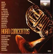 Hornkonzerte, 10 CDs