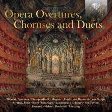 Opern-Ouvertüren, -Chöre und -Duette, 3 CDs