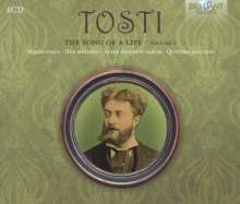 """Francesco  Paolo Tosti (1846-1916): Lieder """"The Song of a Life"""" Vol.2, 4 CDs"""