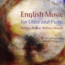 Marika Lombardi & Nathalie Dang - English Music for Oboe and Piano, CD