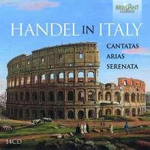 Georg Friedrich Händel (1685-1759): Händel in Italien - Kantaten, Arien, Serenata, 14 CDs