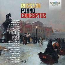 Russian Piano Concertos, 15 CDs