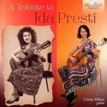 Cinzia Milani - A Tribute to Ida Presti, CD