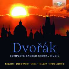 Antonin Dvorak (1841-1904): Geistliche Chormusik, 7 CDs