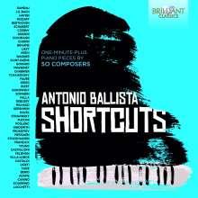 Antonio Ballista - Shortcuts, 2 CDs