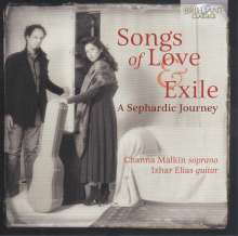 Channa Malkin - Songs of Love & Exile, CD